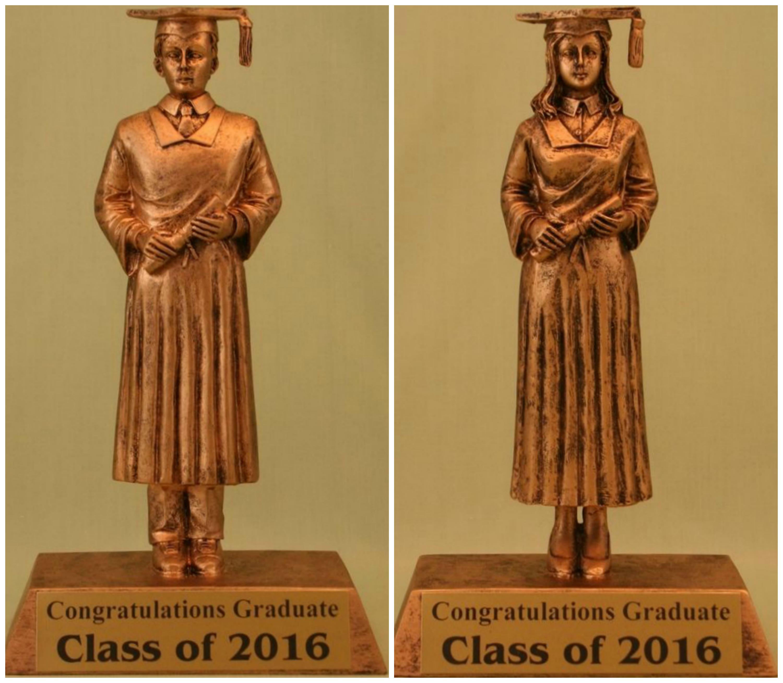 Graduation Trophy Statue | Action Trophy